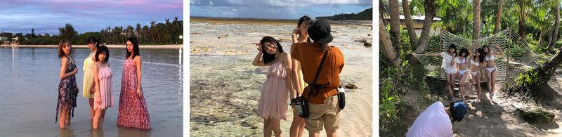 ご褒美グラビアブック「Good Smile in Guam!!!!」メイキングカット